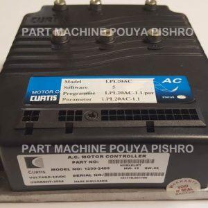 برد کنترلر 24 ولت 200 آمپر کرتیس کد 2405 - 1230 پالت تراک LPL20