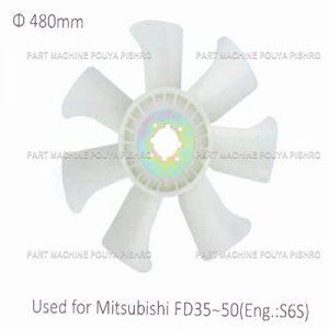 قطعات لیفتراک - پروانه موتور لیفتراک میتسوبیشی
