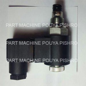 شیر فشار شکن و سلونوئید برقی پالت تراک .  استاکر PS15 - PT20