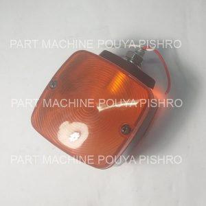 چراغ راهنمای جلو لامپی طرح کوماتسو