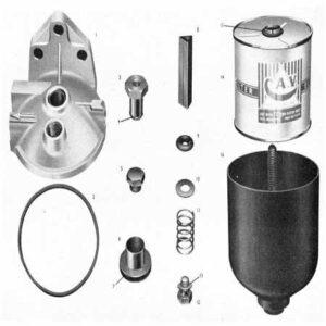 فیلتر گازوئیل با پایه لیفتراک