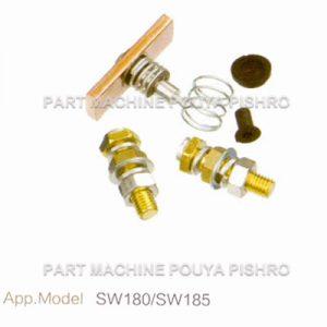 کیت پلاتین کنتاکتور لیفتراک برقی مدل SW180/SW185