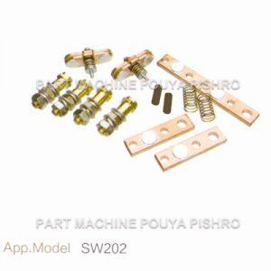 کیت پلاتین کنتاکتور لیفتراک برقی مدل SW202
