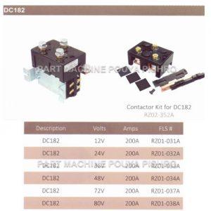 قطعات لیفتراک - کیت و کنتاکتور لیفتراک قابل استفاده در لیفتراک ها