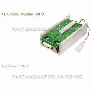 ماژول ترانزیستور حرکت لیفتراک کوماتسو مدل FB15EX-11 سنسوردار