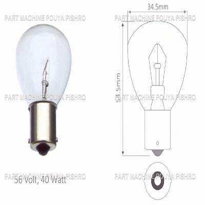 قطعات لیفتراک - لامپ لیفتراک