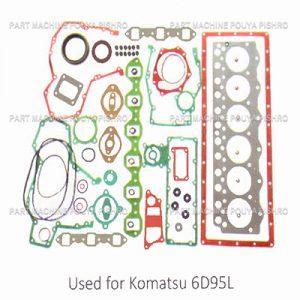 قطعات ليفتراك - واشر کامل موتور ليفتراك کوماتسو