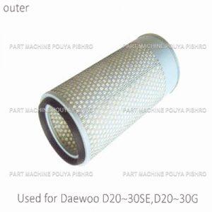 قطعات لیفتراک - فیلتر هوا لیفتراک دوو