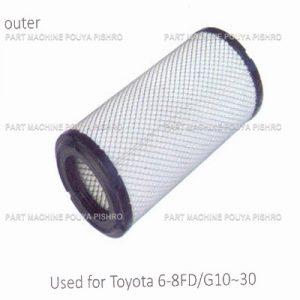 قطعات لیفتراک - فیلتر هوا لیفتراک تویوتا