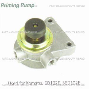 قطعات ليفتراك - فیلتر گازوئیل با پایه ليفتراك کوماتسو