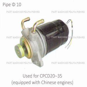 قطعات لیفتراک - فیلتر گازوئیل با پایه ليفتراك