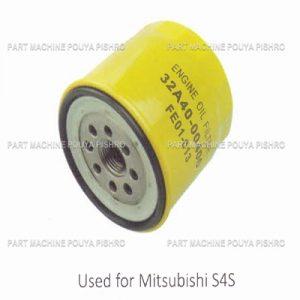 قطعات لیفتراک - فیلتر روغن موتور لیفتراک میتسوبیشی