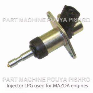 انژکتور گاز LPG لیفتراک با موتور مزدا